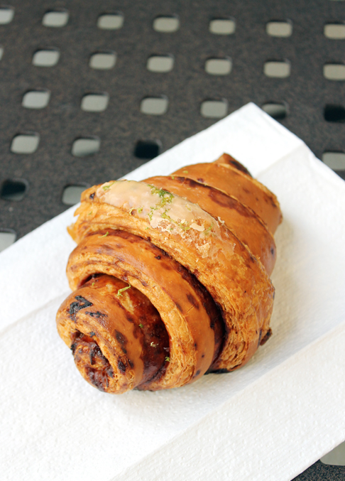 Feast your eyes on the butterscotch-lime croissant at Butterscots.