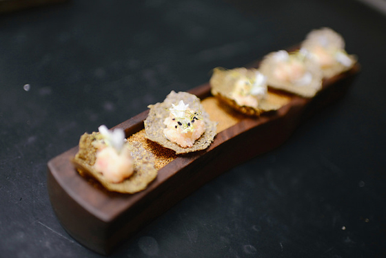 "A spectacular morsel from last year's ""Rarities Dinner'' at GourmetFest. (Photo by Gina Taro)"