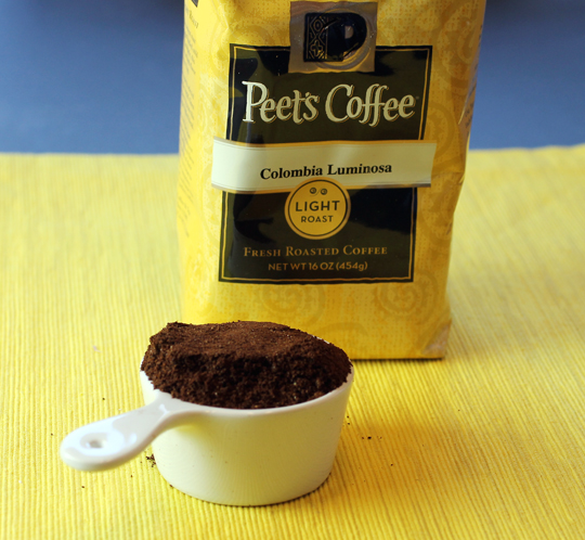 Meet Peet's first light roast. (Photo by Carolyn Jung)