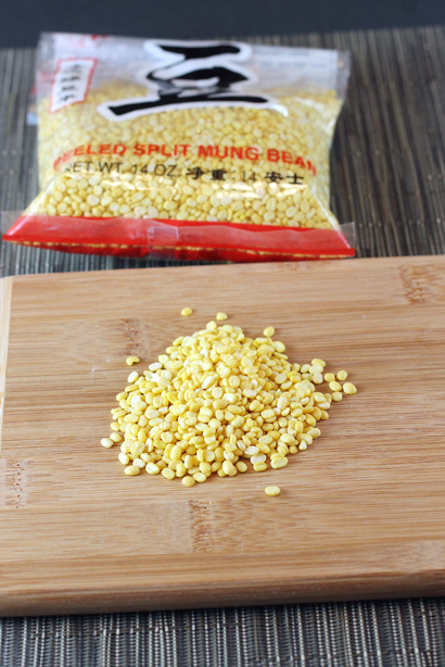 Mung beans from the Asian market.