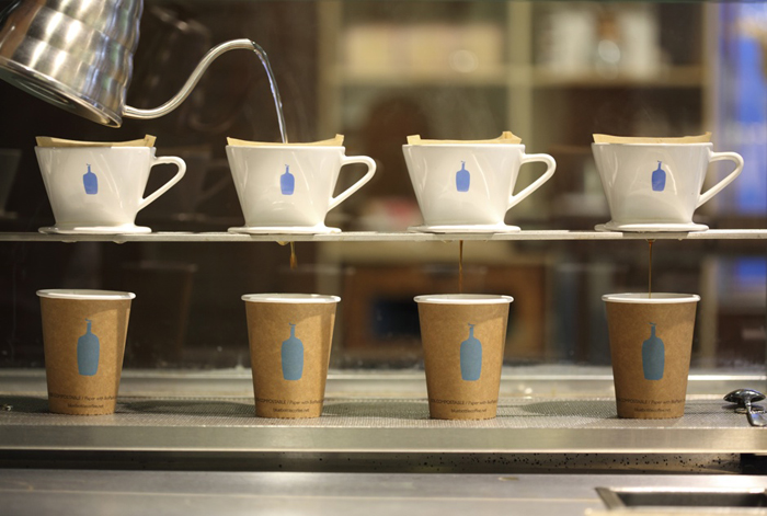 The drip-to-order coffee. (Photo by Blue Bottle)