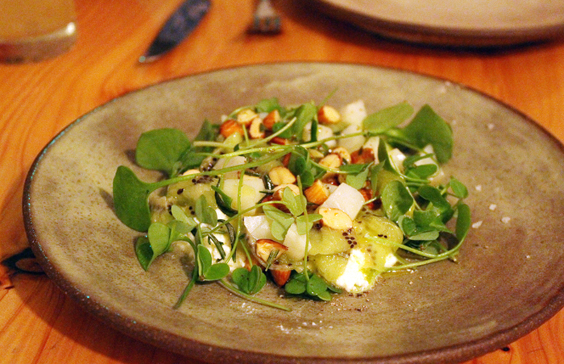 Who would have ever imagined kiwi and ricotta would make such a magical dish?