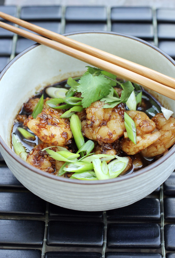 Tamarind, lemongrass and fish sauce give this easy shrimp stir-fry a big boost.