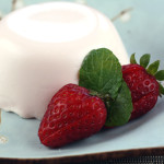 strawberrypannacotta
