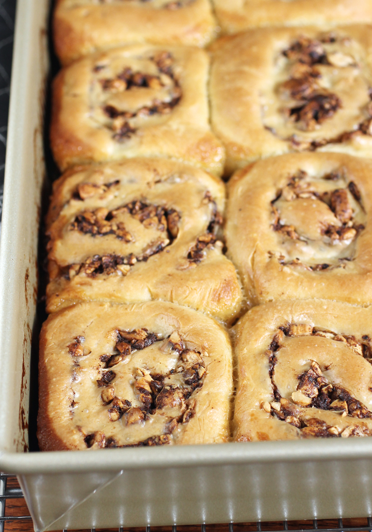 A sticky bun that's less sweet and a whole lot more enjoyable to eat.