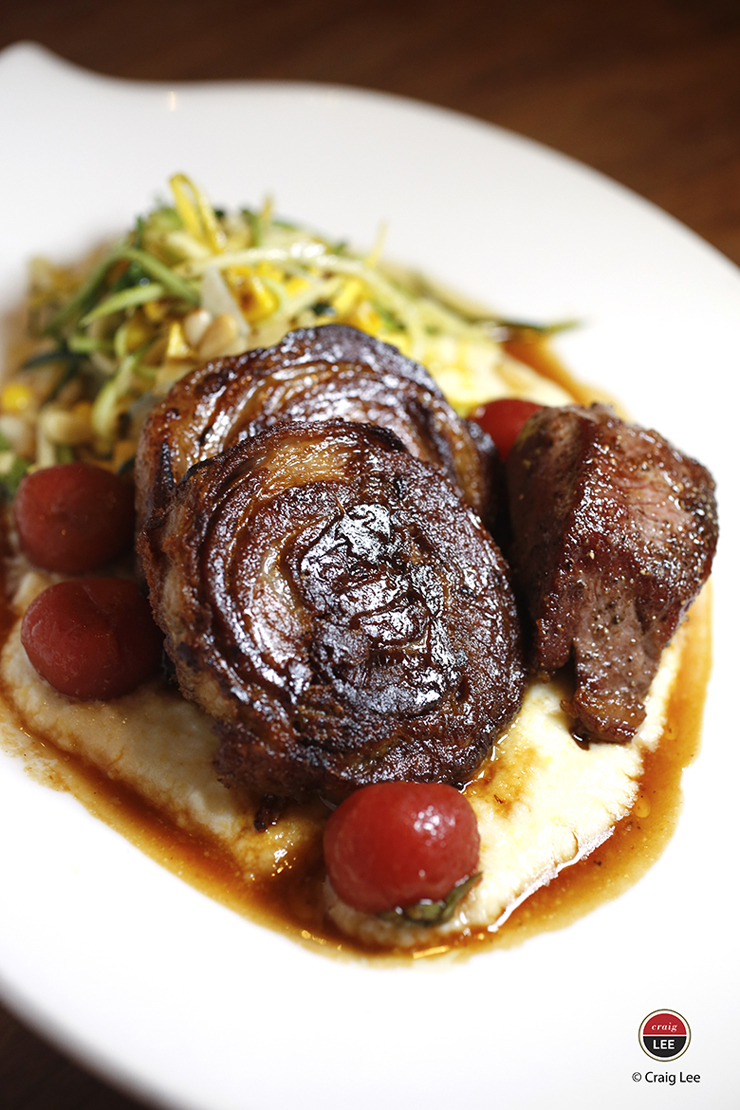 BN Ranch lamb two ways at Bluestem Brasserie. (Photo by Craig Lee)