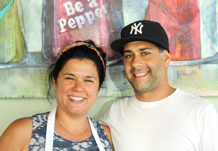 Owners Kristi Borrone and Zu Tarazi.