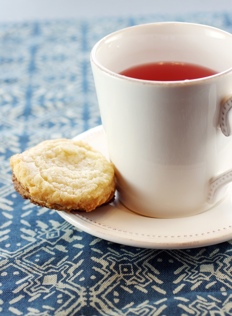 Perfect with a cup of tea or coffee, these cookies are deceptively rich and chewy.