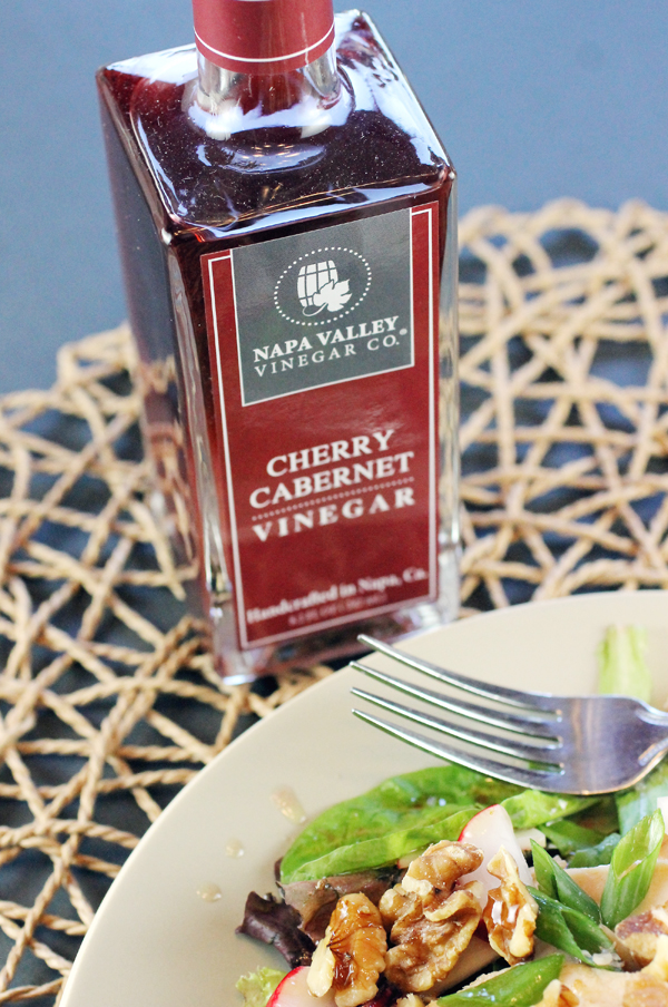 Cherry Cabernet Vinegar for a change of pace. (Photo by Carolyn Jung)