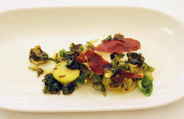 Liberman's awesome Brussels sprouts dish.