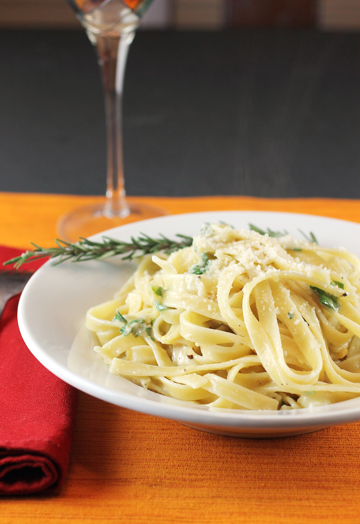 It only takes a handful of ingredients to make this sensational pasta dish.