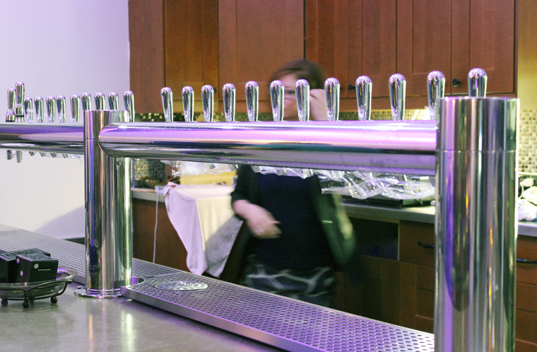 The tap system.