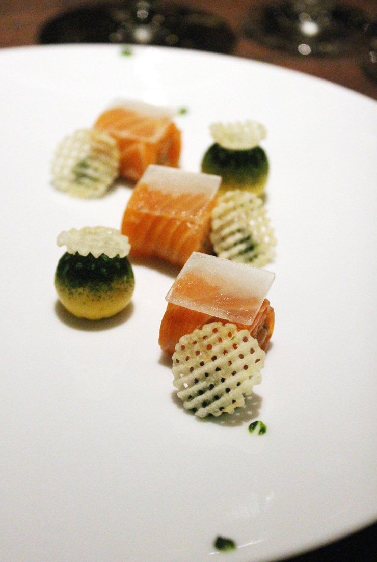 Ocean trout as imagined by the newly anointed chef of San Francisco's Coi.