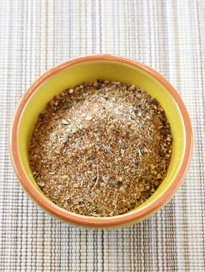 A delicious rub that would also be divine on chicken or pork.