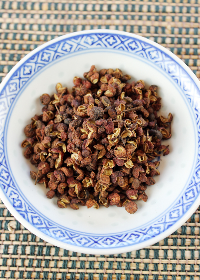Sichuan peppercorns to tingle and tantalize.