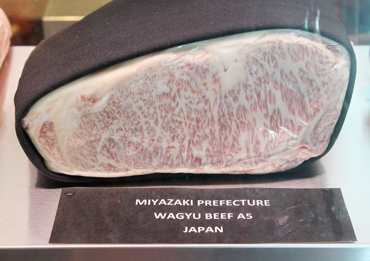Even more marbled Wagyu.