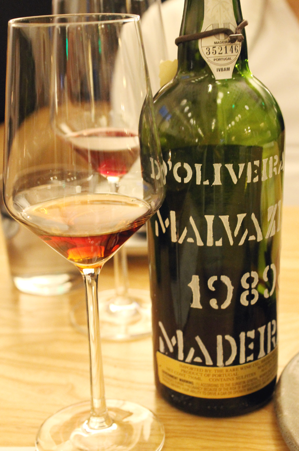 A little Madeira to go with all that chocolate.
