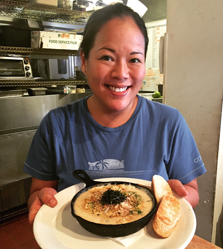 Breakfast is served -- by Chef Lee Anne Wong at her Koko Head Cafe.