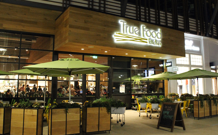 The new restaurant opened this week in the Stanford Shopping Center.
