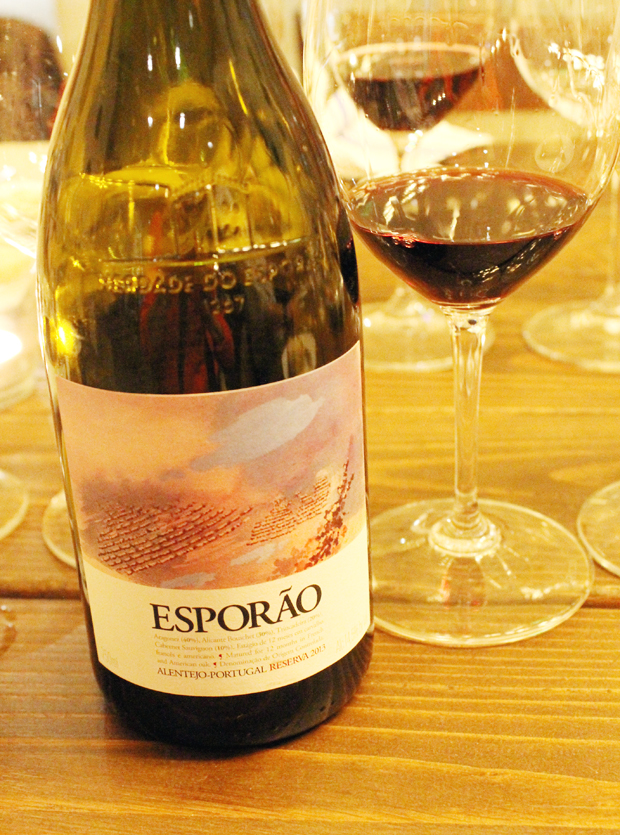 The 2013 Esporao Reserva Red.