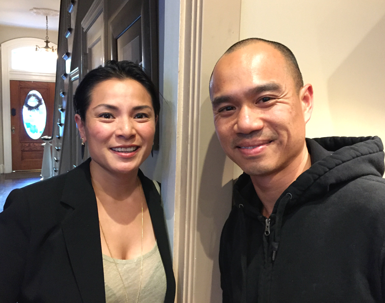 Among the guests were Belinda Leong of B. Patisserie, and James Syhabout of Hawker Fare and Commis.