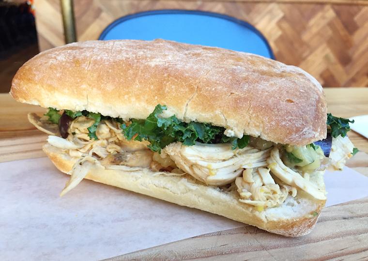 Sandwich love.