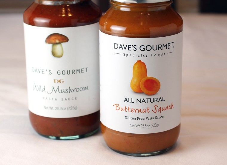 The two Dave's Gourmet sauces you can win.
