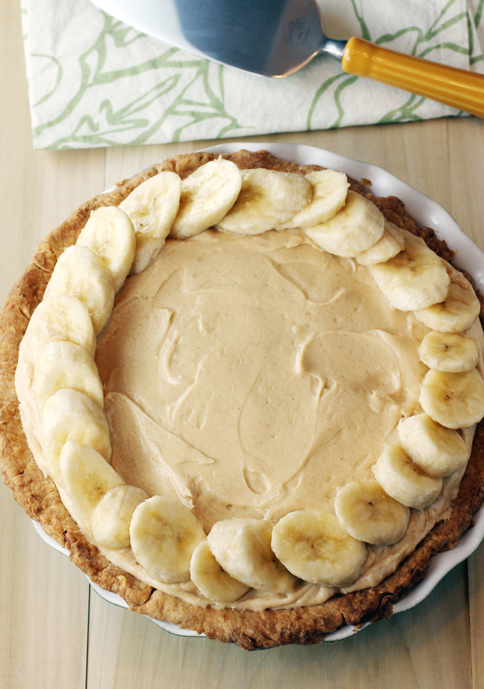 Who put peanut butter in my banana cream pie? Irvin Lin did.