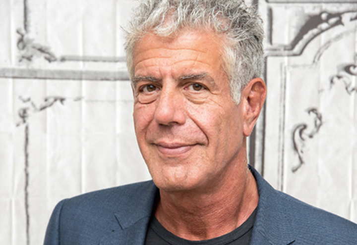 The one and only Anthony Bourdain. (Photo by  Pont—WireImage/Getty Images)