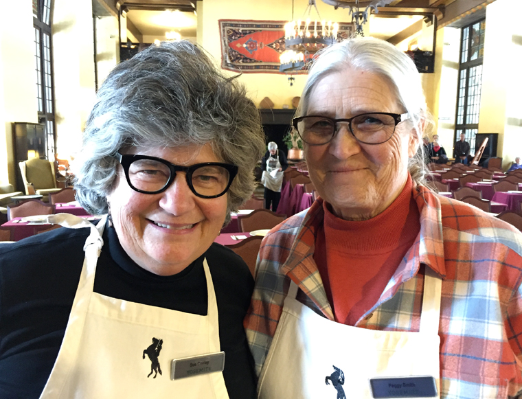 Sue Conley and Peggy Smith of Cowgirl Creamery.