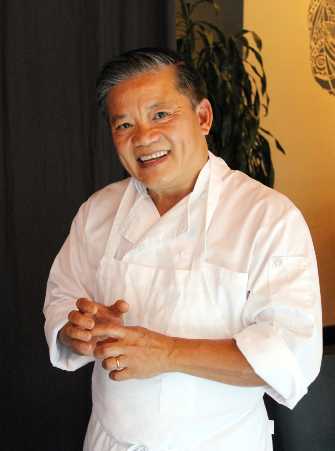 At 58, he opened a very personal restaurant.