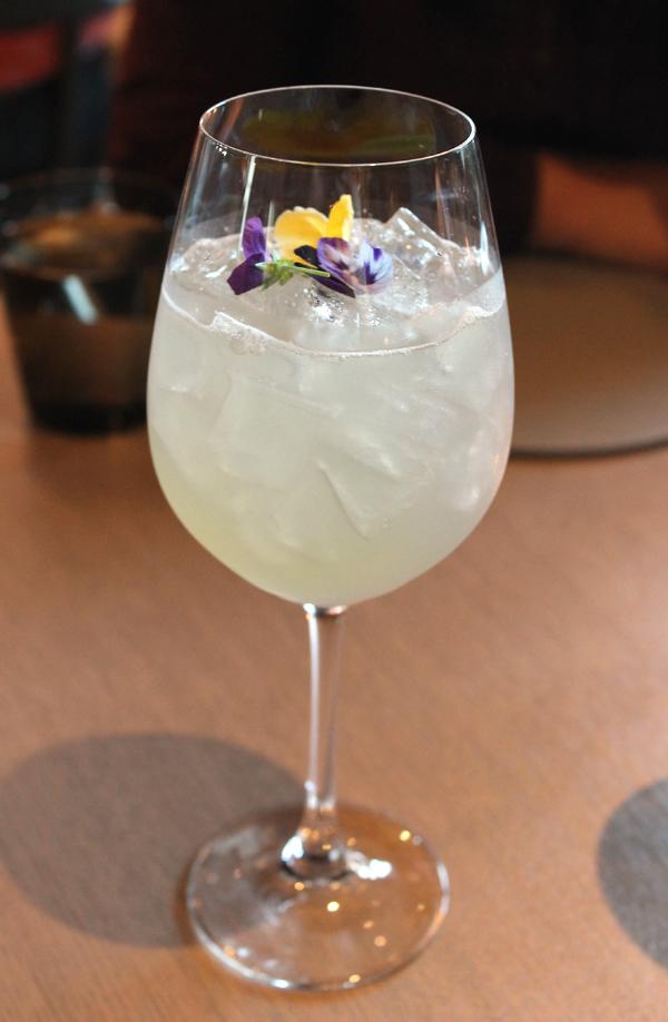 The Acacia namesake cocktail.