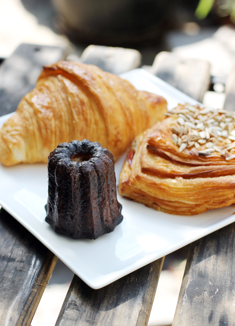 Impeccable pastries at La Fournee.