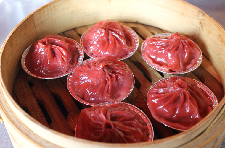 Soup dumplings given a Thai spin.