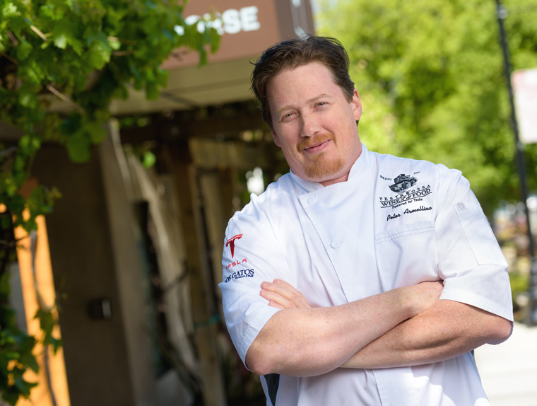 Chef Peter Armellino of The Plumed Horse. (photo courtesy of the restaurant)