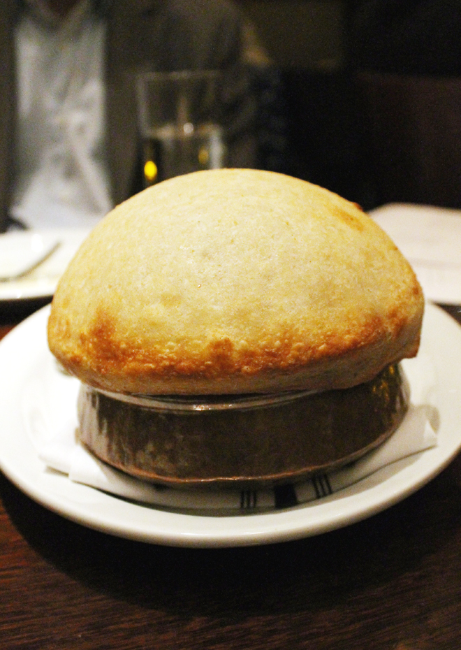 What's hiding in this dough-sealed dish?