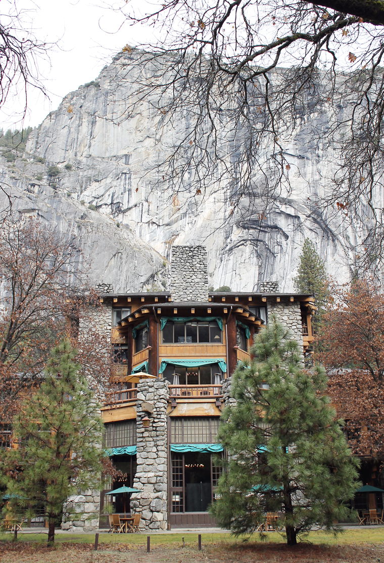 The Majestic Yosemite Hotel in all its majesty.