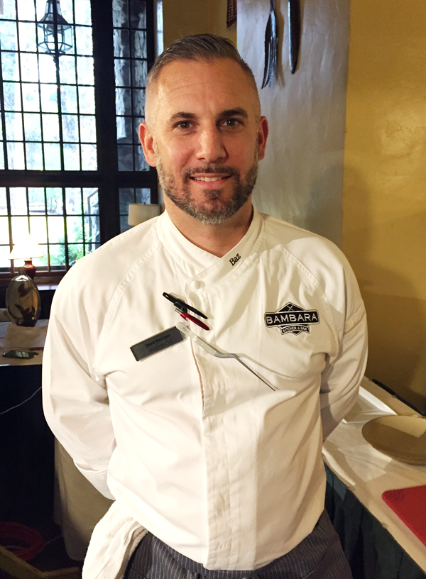 Chef David Bazirgan of Bambara in Cambridge, making a return to California, where he cooked for 13 years.