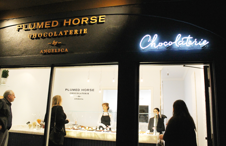 Fabulous chocolates await inside this new shop.