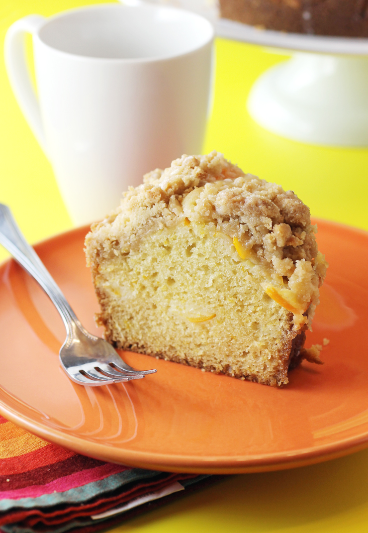 Zest, juice and slices of Meyer lemon flavor this irresistible Meyer lemon coffee cake.