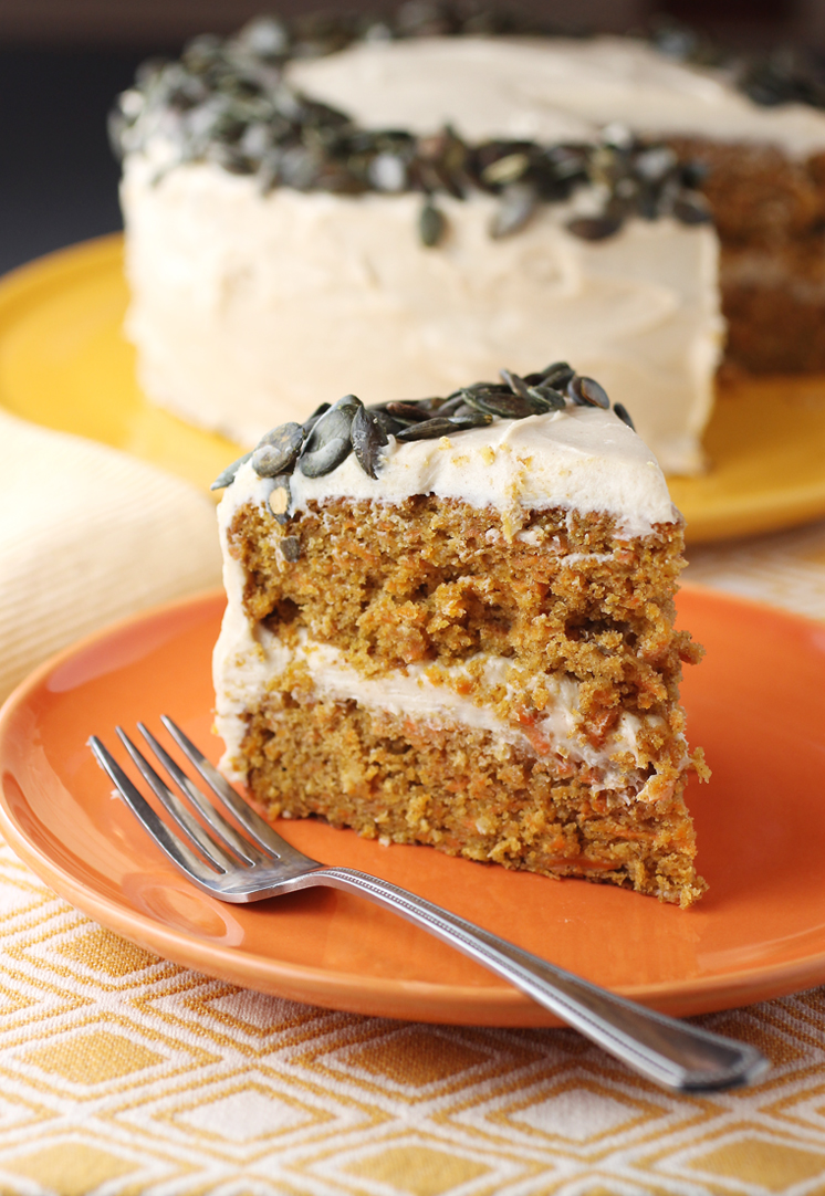 A carrot cake recipe that will replace any other you used to use.