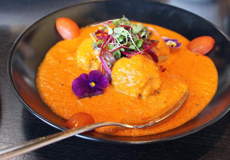 Chicken sausage -- Indian-style.