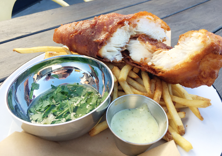 The best fish and chips -- ever.