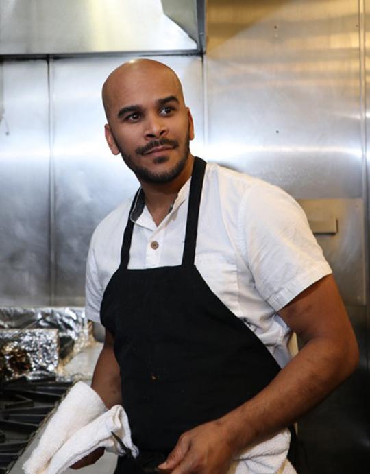 Executive Chef Anthony Lee. (Photo courtesy of Gather restaurant)
