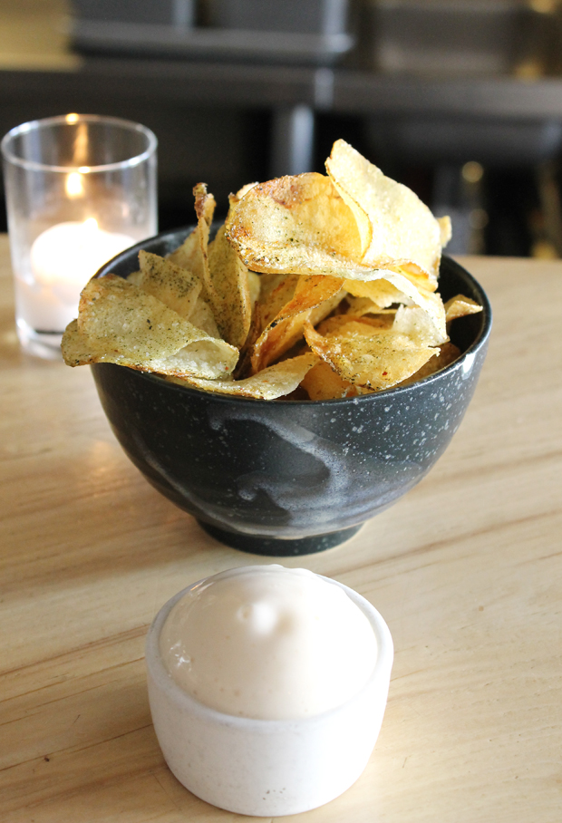 Not your ordinary chips and dip.