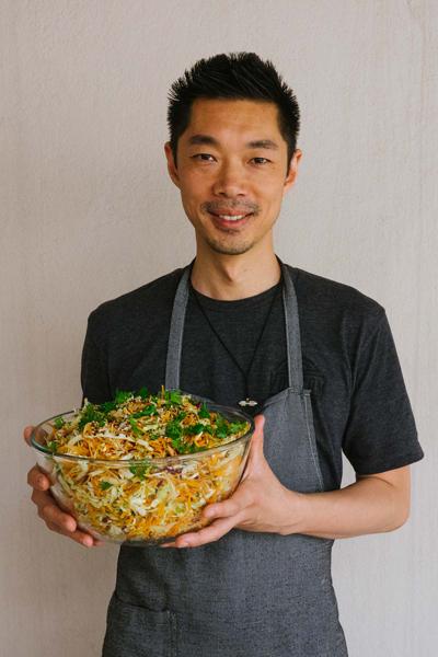 Chef Sam Shem. (photo by Danielle Tsi)