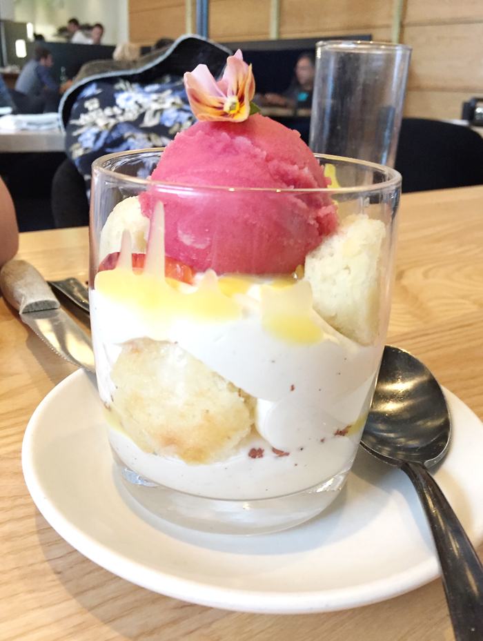 Pretty in pink parfait.