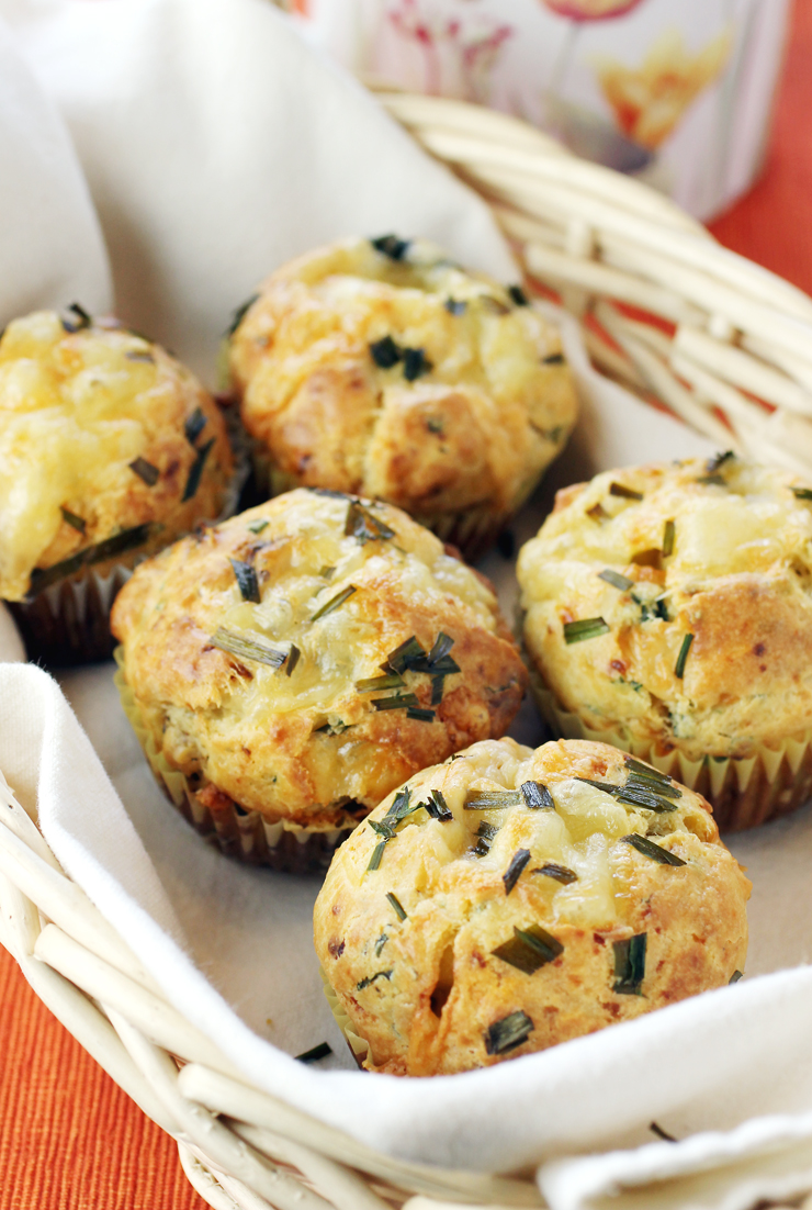 Cheesy muffins to fall for.
