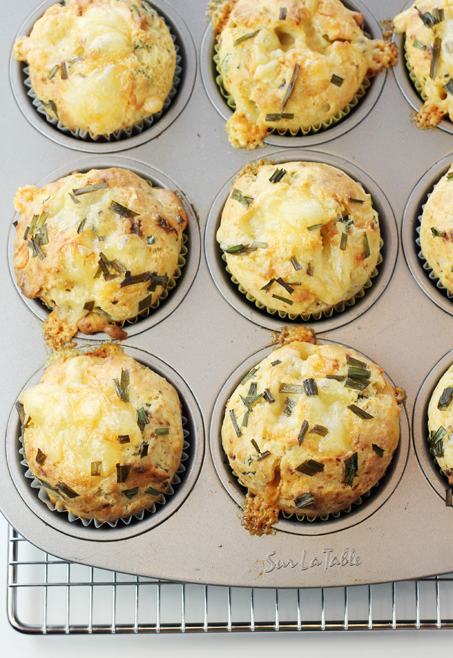 Nix the paper liners and just grease your muffin pan instead.
