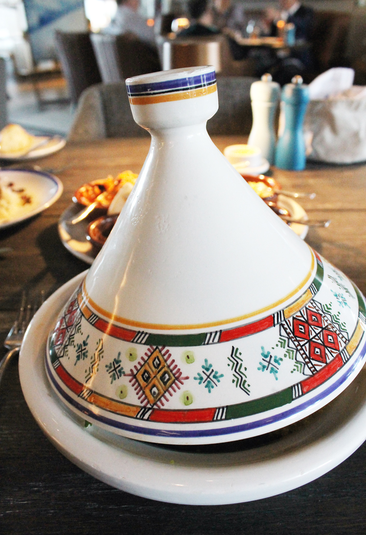 Tagines are the centerpiece of the menu at Porta Blu.